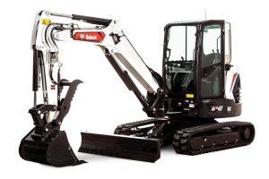 New Bobcat E42 Compact Excavator (Extendable Arm)