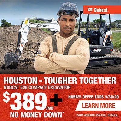 E26 Excavator Special Promo